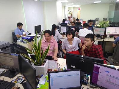 オフショアソフトウェア開発イメージ